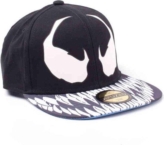 Spider - Venom Snapback Cap (Glow In The Dark) - Spider-Man
