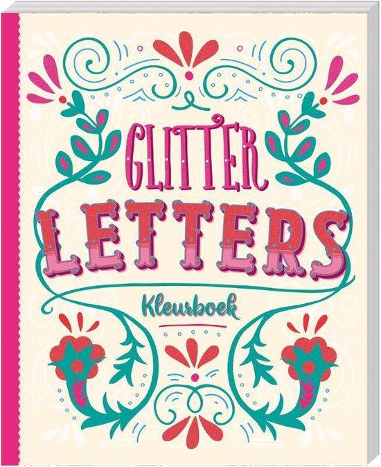 Afbeelding van Glitterkleurboek Letters speelgoed