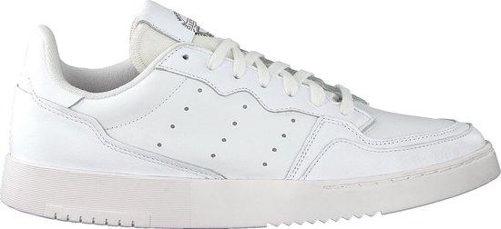 adidas Supercourt Heren Sneakers - Ftwr White/Ftwr White/Core Black - Maat 41 1/3