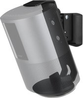 SoundXtra SDXBHS5WM1021 speaker steun Muur Acrylonitrielbutadieenstyreen (ABS), Staal Zwart