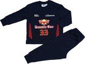 Fun2Wear Pyjama Formule 1 Verstappen - Navy - Maat 62