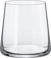 "RONA - Water/frisdrank/cocktail glas 41cl ""Mode"" Kristal (6 stuks)"