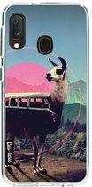 Samsung Galaxy A20e hoesje Llama Casetastic Smartphone Hoesje softcover case