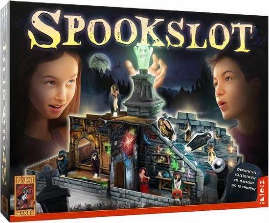 Afbeelding van het spel gezelschapsspel Spookslot junior 21-delig