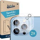 Apple iPhone 13 Pro Max Camera Lens screenprotector - 2 stuks - Just in Case