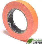 MagTape Ultra Matt Neon gaffa tape 25mm x 25m oranje
