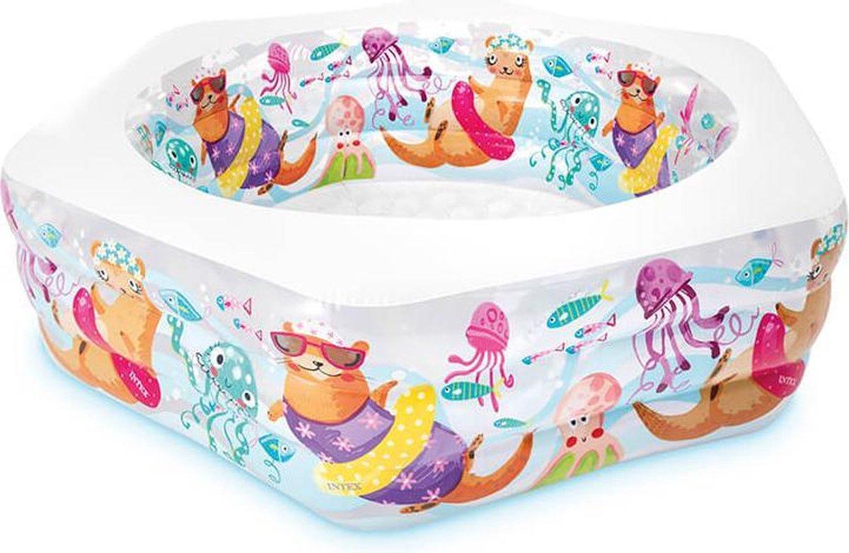 Opblaasbaarzwembad Happy Otter