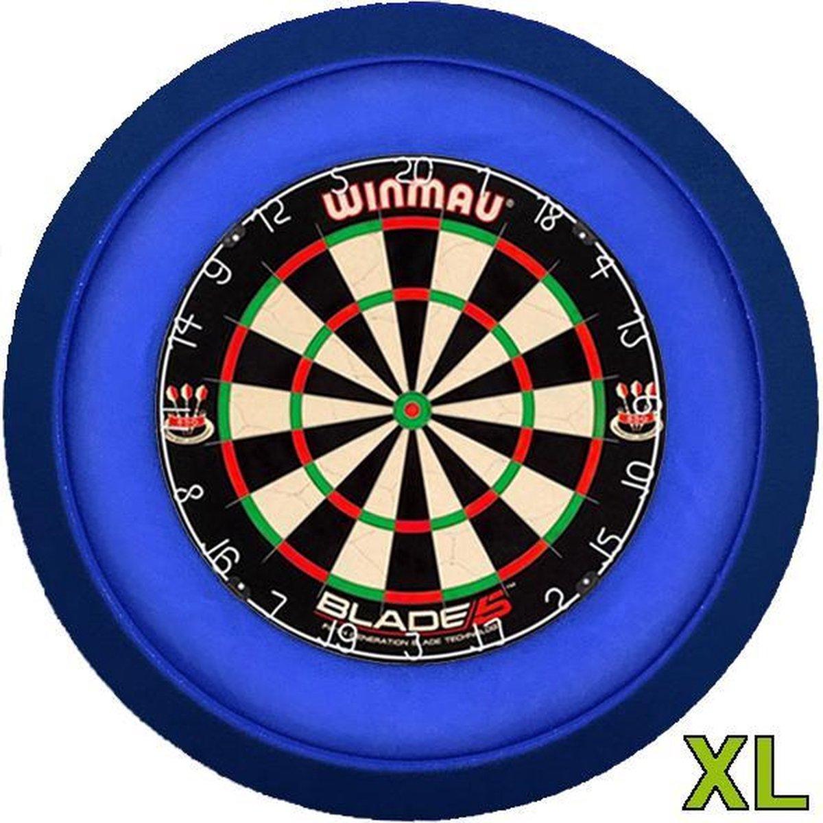 Lena Dartbord verlichting XL Blauw
