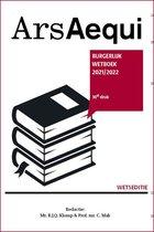 Ars Aequi Wetseditie  -   Burgerlijk wetboek 2021-2022