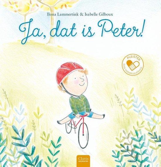 Boek cover Pleister 0 -   Ja, dat is Peter! (over hoogbegaafdheid) van Ilona Lammertink (Hardcover)