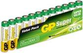 AAA batterij (potlood) GP Batteries Super 8+4 Alkaline 1.5 V 12 stuks