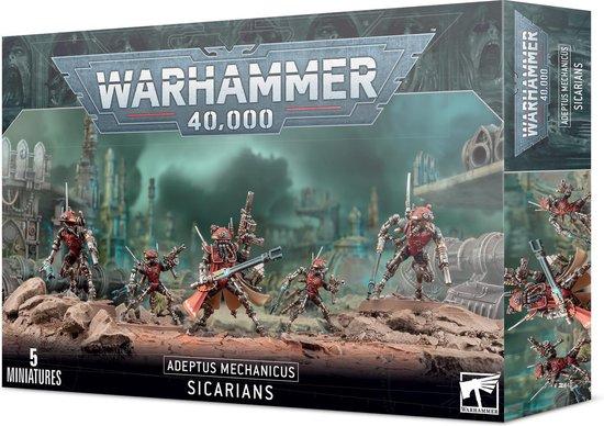 Afbeelding van het spel Warhammer 40.000 Adeptus Mechanicus Sicarians