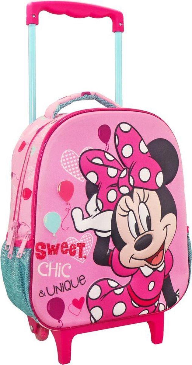 Disney Minnie Mouse Trolley Rugzak Sweet Chic - 31 x 27 x 10 cm - Polyester