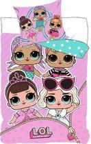 L.o.l Surprise   Dekbedovertrek voor meisjes-eenpersoons dekbed-Topkwaliteit-200x140cm