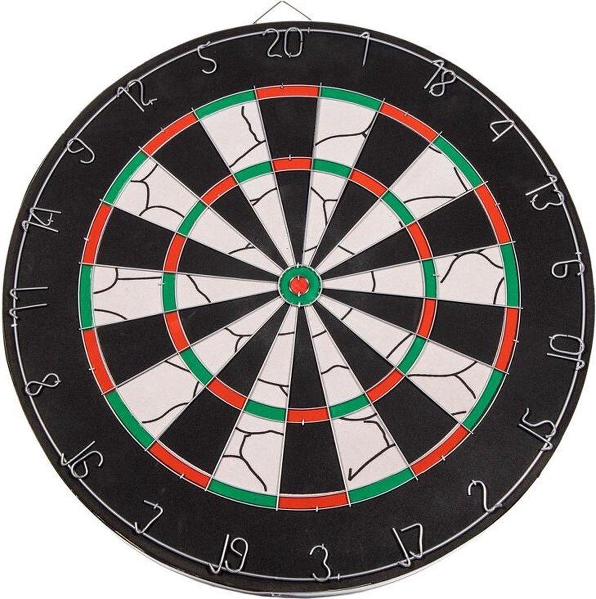 SportX Dartbord 45 cm Sisal - Speelgoed - Sport en Spel