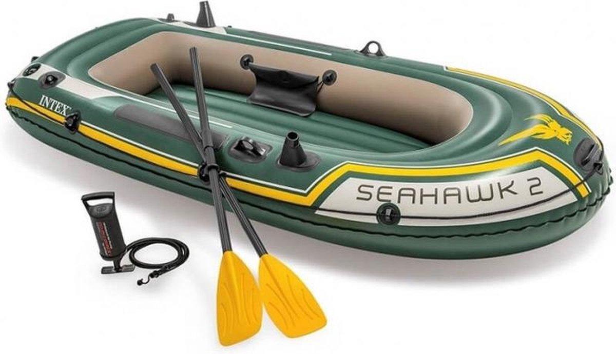 Intex Seahawk Opblaasboot - 2 Personen - Groen