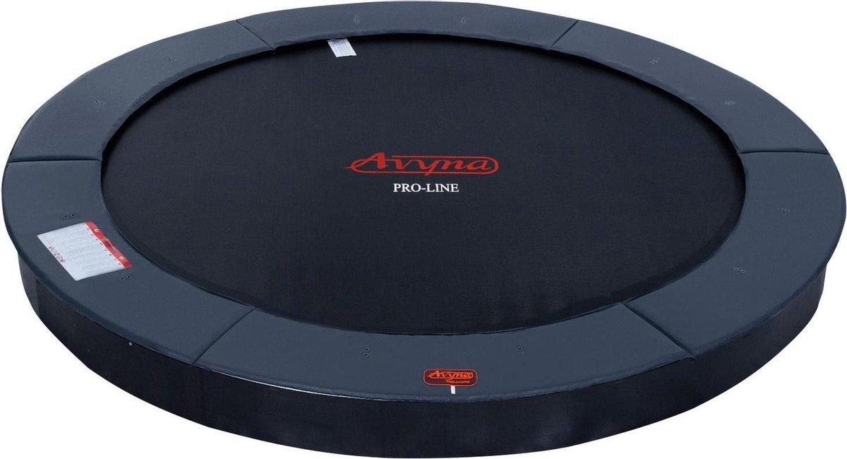 Avyna Pro-Line FlatLevel trampoline 14 ø430 cm - Grijs