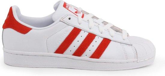 adidas Superstar Heren Sneakers - Ftwr White/Core Black/Ftwr White - Maat 43 1/3