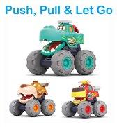 PLAY IT Auto Speelgoed Monster Truck 3 Stuks - Speelgoed auto - Jongens Speelgoed