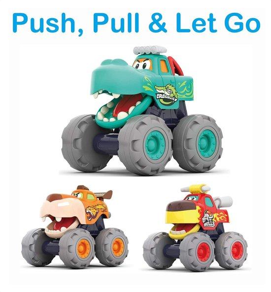 PLAY IT Auto Speelgoed Monster Truck - Speelgoed auto - Jongens Speelgoed - Speel & Leer