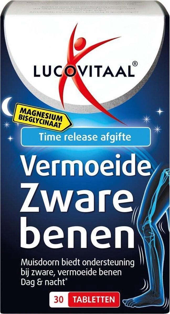 3x Lucovitaal Magnesium Vermoeide Zware Benen 30 tabletten