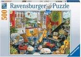 Ravensburger puzzel De muziekkamer - Legpuzzel - 500 stukjes