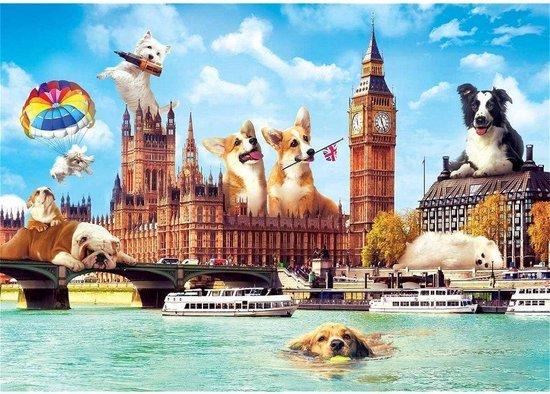 Puzzel Funny Cities Londen 1000 Stukjes