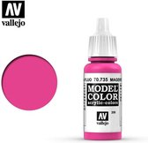 Vallejo 70735 Model Color Magenta Fluorescent - Acryl Verf flesje