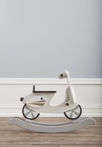 Kid's Concept Rocking scooter - Grijs/Wit