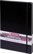 Talens Art Creation schetsboek - zwart - gebonden