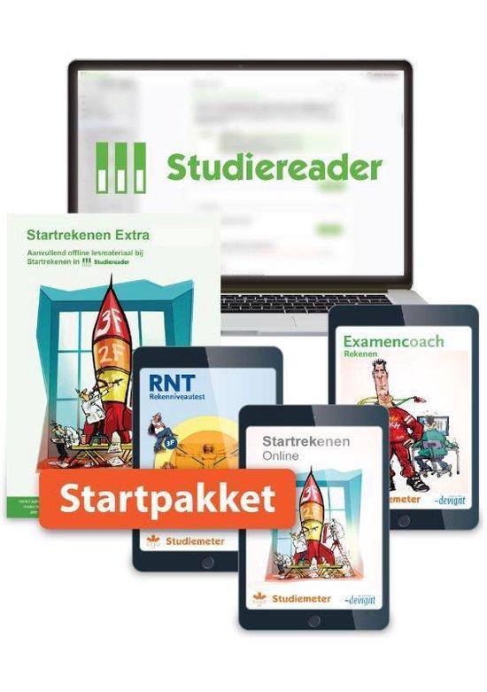 Boek cover Startrekenen  -   Studiereader Startrekenen mbo 12M van Sari Wolters (Onbekend)