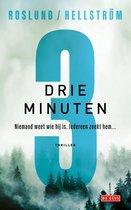Boek cover Drie minuten van Anders Roslund (Paperback)
