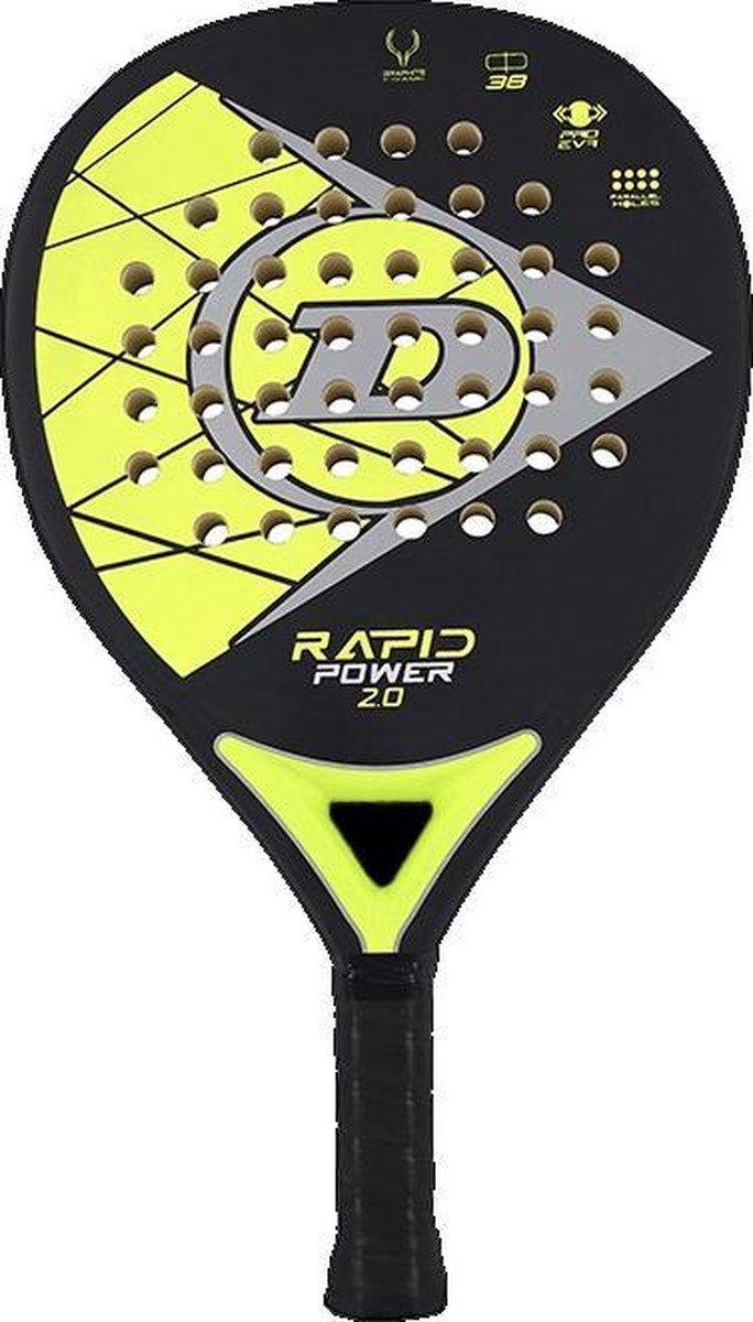 Dunlop Rapid Power 2.0 padel racket Geel/Zwart