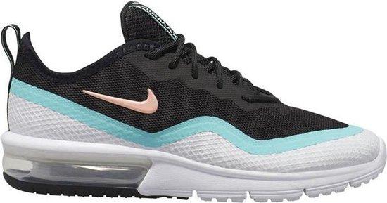 Nike Air Max Sequent 4.5 Wit Zwart Sneakers Sportschoenen Dames Maat 40.5