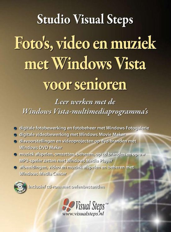 Foto'S, Video En Muziek Met Windows Vista Voor Senioren - Studio Visual Steps |