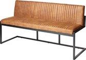 Furn4all® Ray Eetkamerbank - Eettafelbank - Stof - Design - Vintage - Cognac