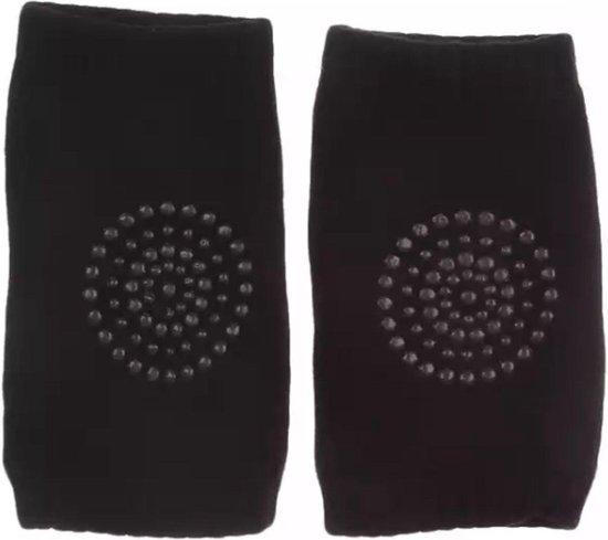 Kniebeschermers baby / baby sokken Zwart (2 paar) - Heble