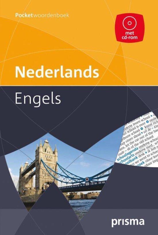 Prisma pocketwoordenboek Nederlands-Engels - A. de Knegt |