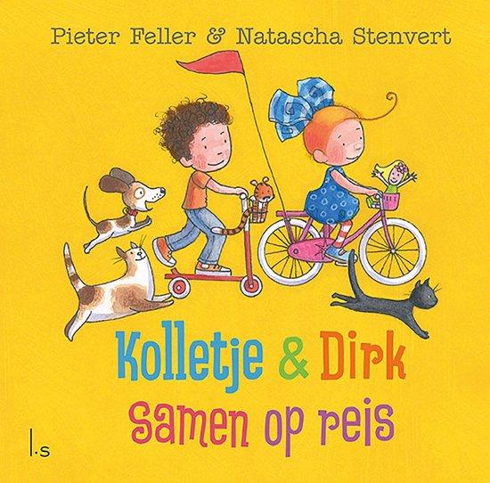 Boek cover Kolletje & Dirk  -   Samen op reis van Pieter Feller (Hardcover)