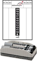 Dragon darts - Whitebord - plus wisser en 2 Maxiflo stiften - deDartshop