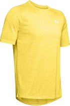 Under Armour Tech 2.0 SS Tee Heren Sportshirt - Eureka Yellow - Maat M