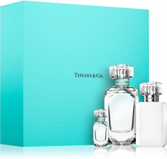 Tiffany & Co Giftset  Eau de parfum 75 ml + Bodylotion 100 ml + Mini Eau de parfum 5 ml