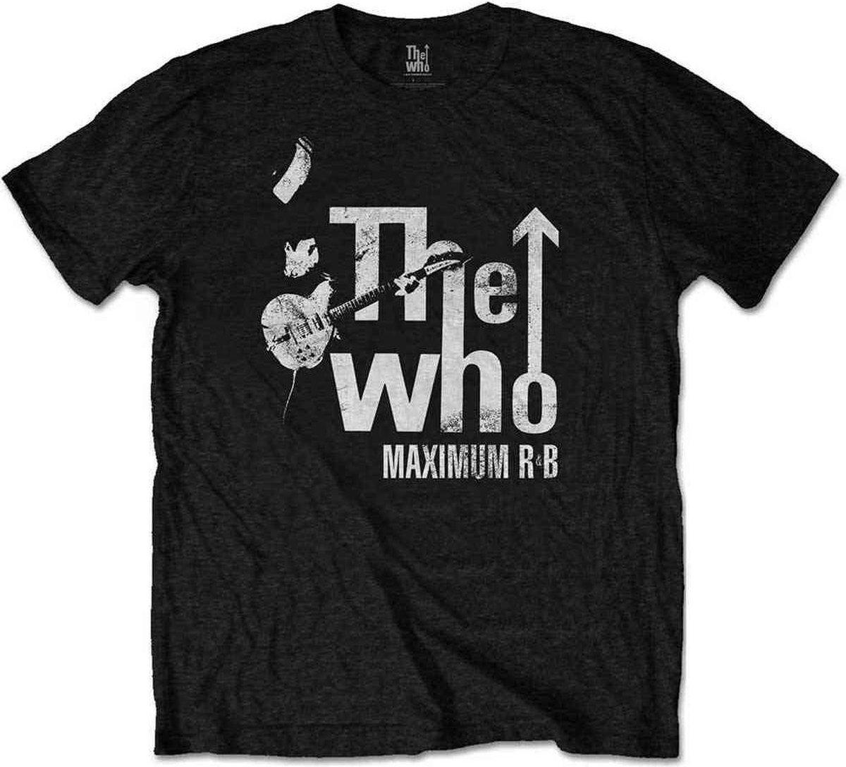 The Who Heren Tshirt -2XL- Maximum R&B Zwart