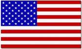 Vlag Verenigde Staten Amerika 90 x 150 cm feestartikelen - USA/Amerika - President Verkiezingen - Amerika lLanden thema supporter/fan decoratie artikelen