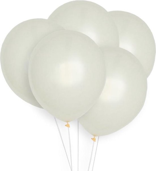 Ballonnen Ivoor (10st) Perfect Basics House Of Gia