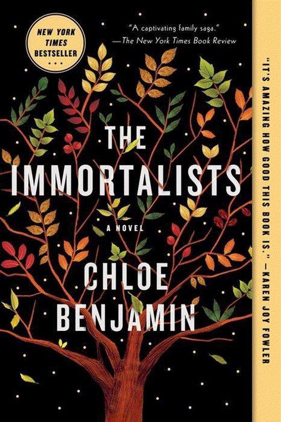 Boek cover The Immortalists van Chloe Benjamin (Paperback)