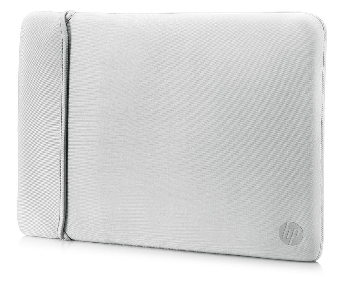 HP Neoprene Reversible Sleeve - Laptopsleeve / 15,6 inch / Zwart en Zilver