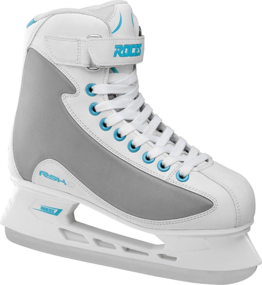 ROCES IJshockeyschaatsen RSK 2 Wit/Grijs 37