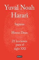 Omslag Obra completa. Pack con: Sapiens | Homo Deus | 21 lecciones para el siglo XXI