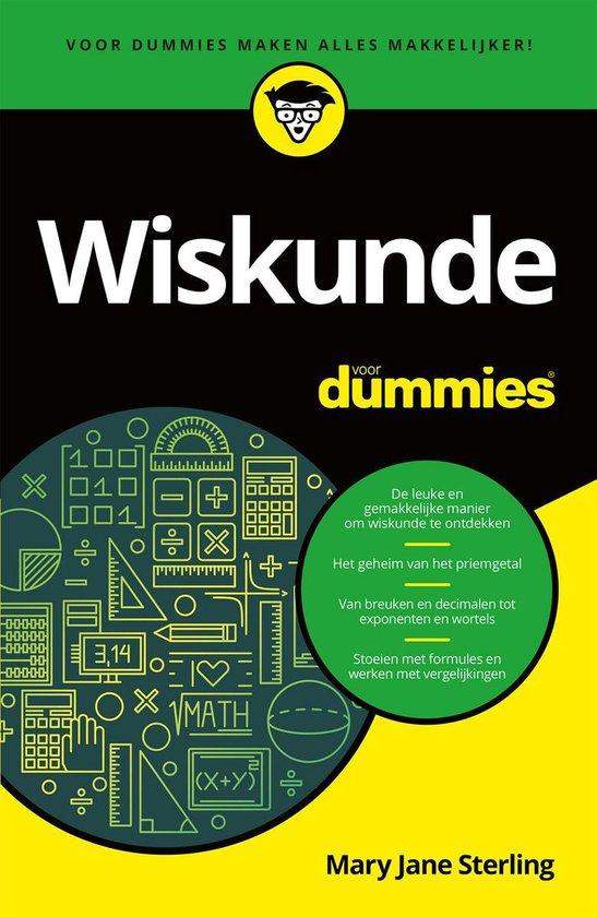 Wiskunde voor Dummies - Mary Jane Sterling | Fthsonline.com